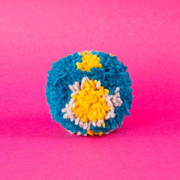 kolorowy pompon